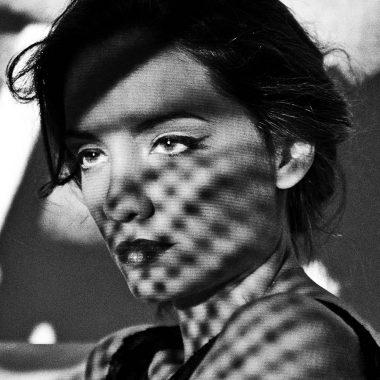 foto artística de la actriz María Hervás