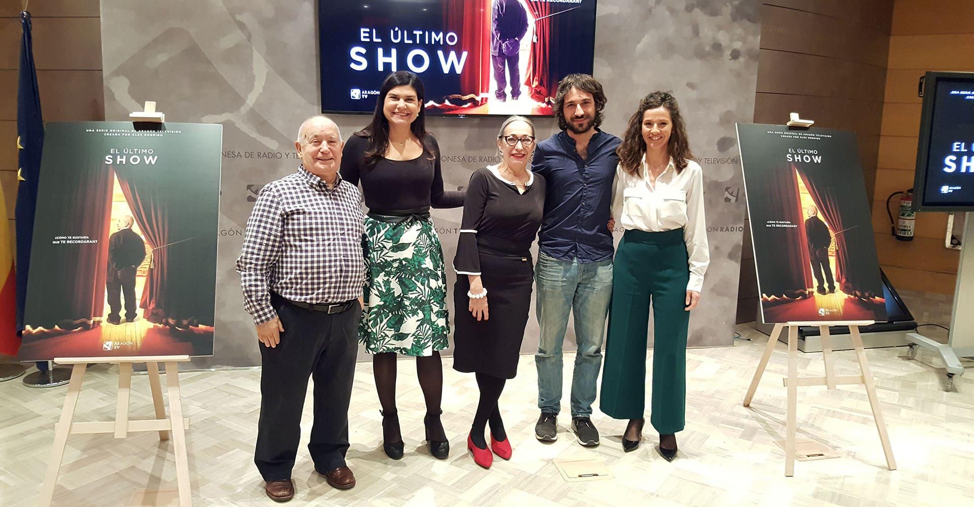 El Último Show presentación Aragón Televisión