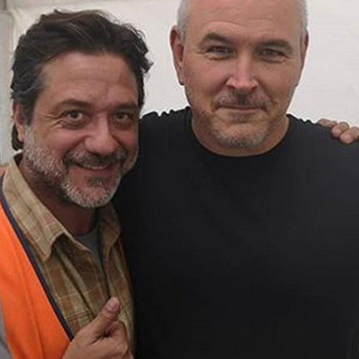 Enrique Arce y Tim Miller