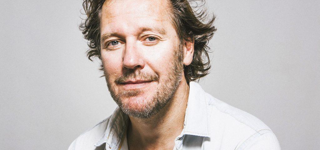 Retrato del actor belga Frank Feys