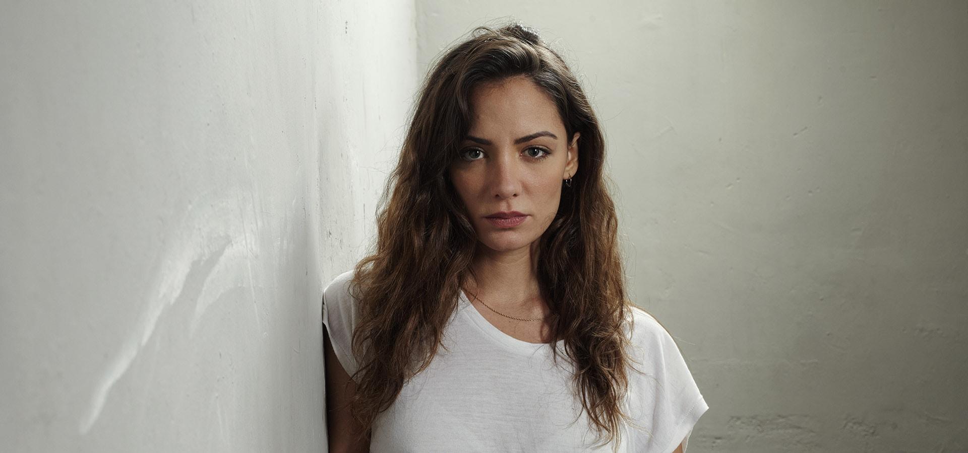 Retrato de la actriz María Hervás