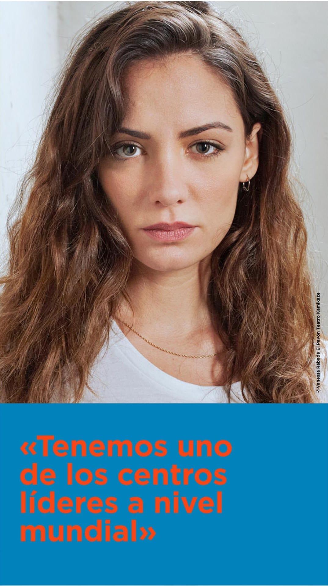 María Hervás en la campaña CNIOStopCáncer