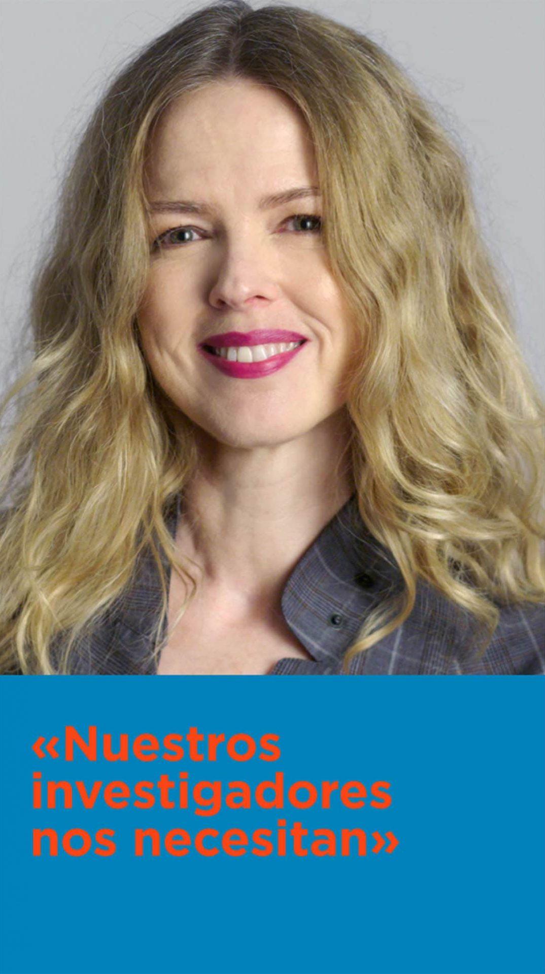 Cristina Rosenvinge en la campaña CNIOStopCáncer