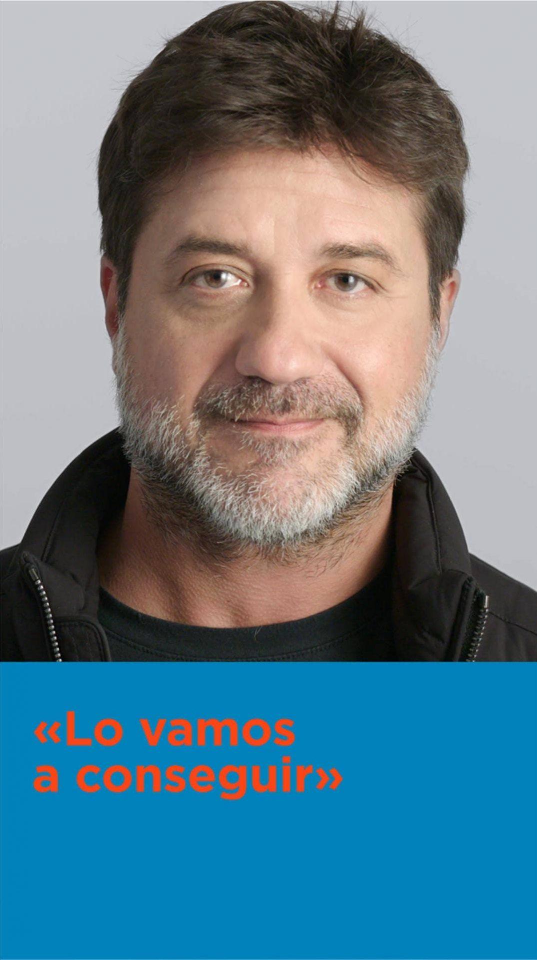 Enrique Arce En la campaña CNIOStopCáncer