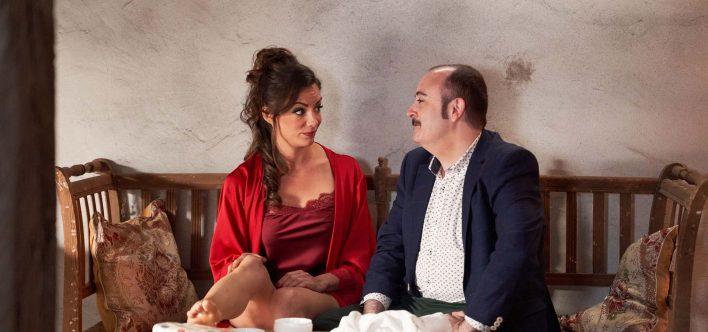 María Hervás y Carlos Areces