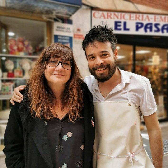 Isabel Coixet y Leonardo Ortizgris
