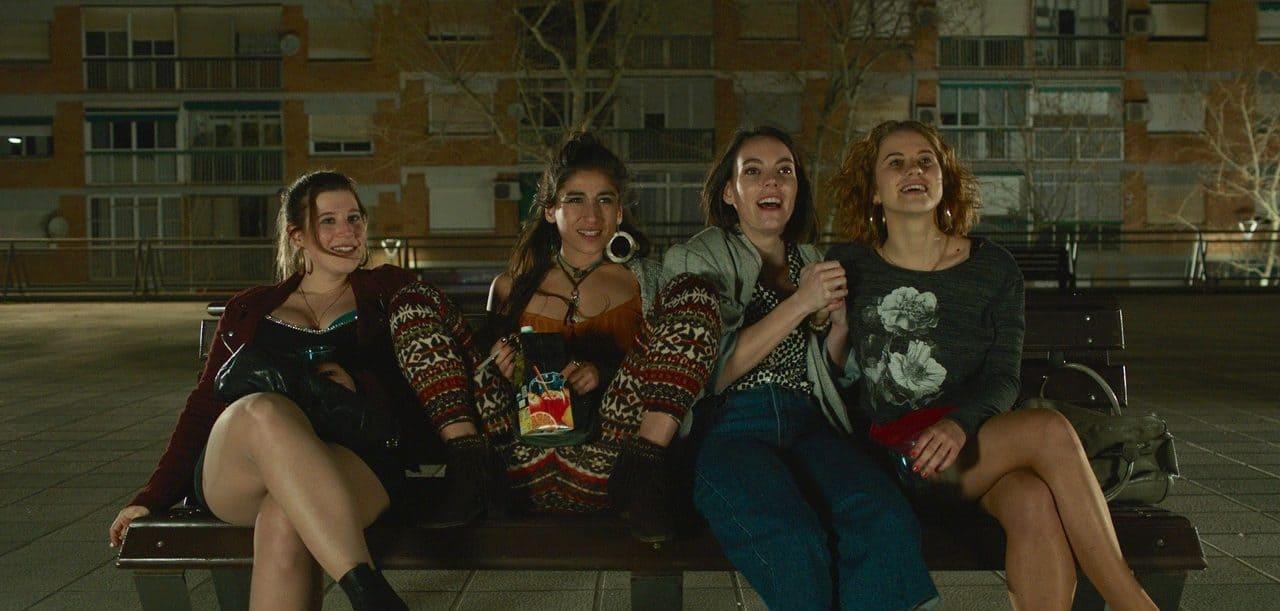 Las actrices protagonistas de la película 'Chavalas'
