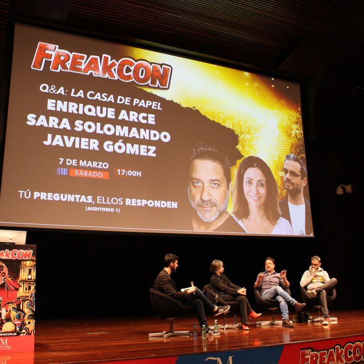 Q&A con Enrique Arce en el FreakCon de Málaga