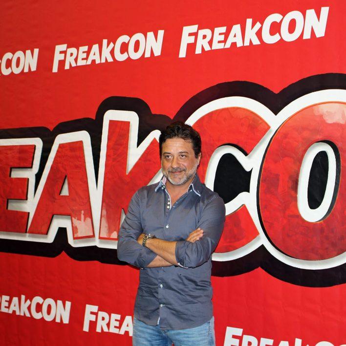 Enrique Arce en FreakCon de Málaga 2020
