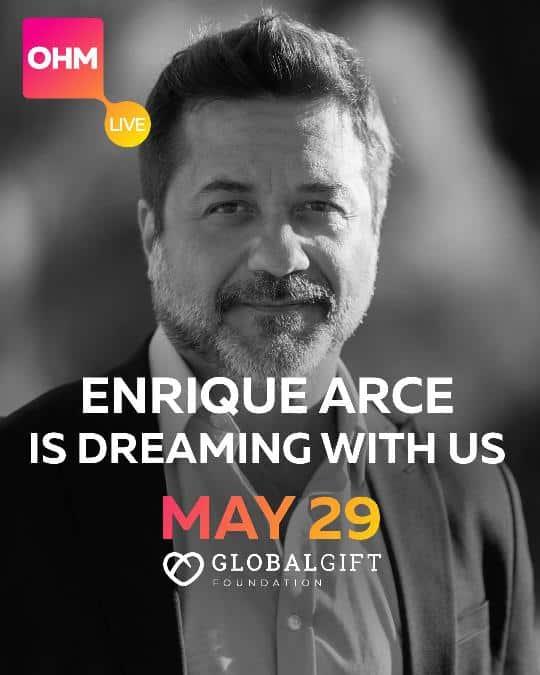Enrique Arce campaña Global Gift Foundation